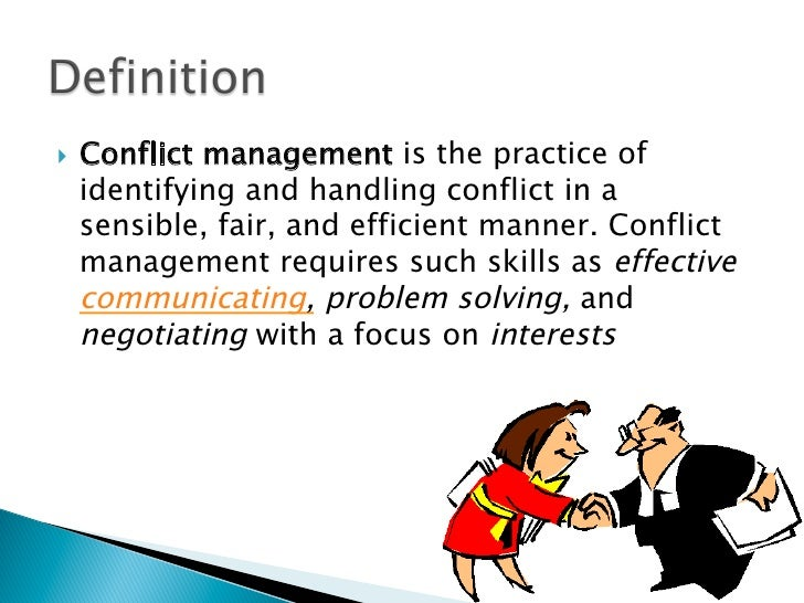 an analysis of different conflict management strategies in the workplace The critical role of conflict resolution  links between conflict type, conflict management strategies, and  how different conflict management approaches are.
