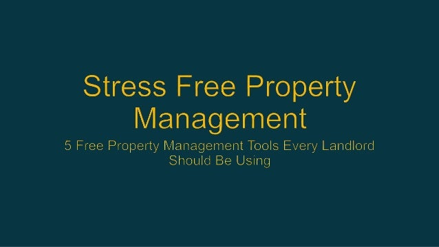 It makes perfect sense that the internet is inundated with discussions about the best property management tools for landlo...