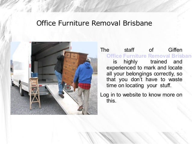 Stress Free Relocation Giffen Furniture Removals