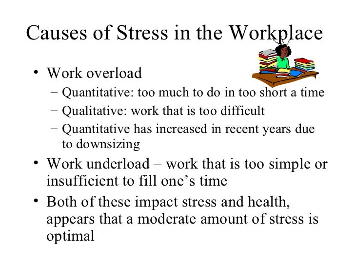 stress in the workplace essay