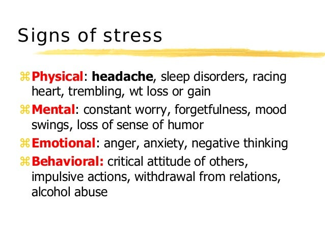 the cause and management of psychological stress The psychology of stress and how teachers can manage it  stress through prevention rather than management if a major cause for stress in the feeling that we are losing control, how can .