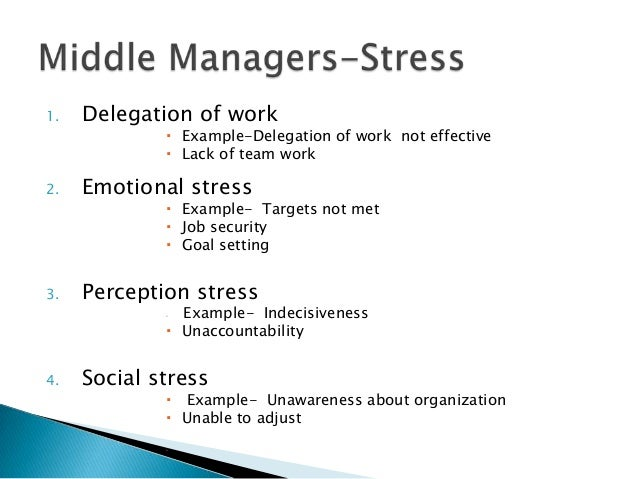 how to create a stress management plan