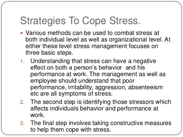 Stress Management (27) How to Eliminate Stress – Conclusion