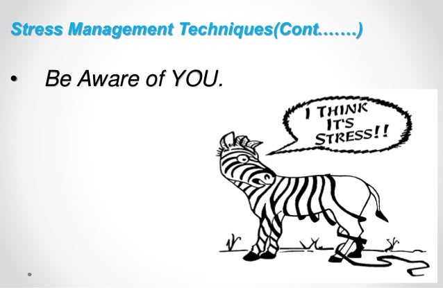 Stress management Training presentation