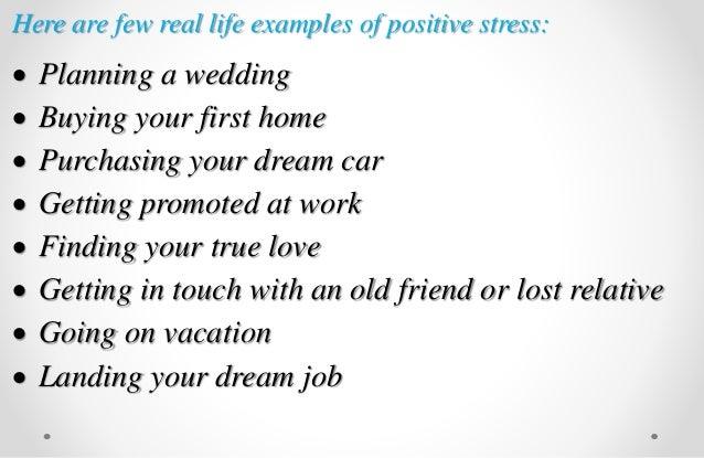Examples of positive stress | www. Picsbud. Com.