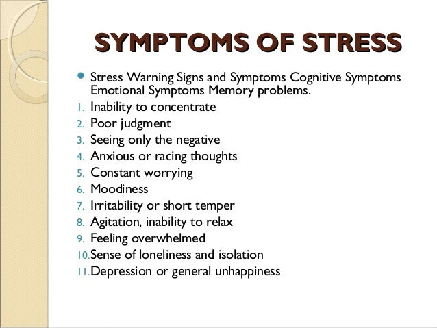 the effects and dealing with stress Adolescence is an important time to learn to deal with stress  but too much  stress has many effects on the body and mind, alvord says in the.