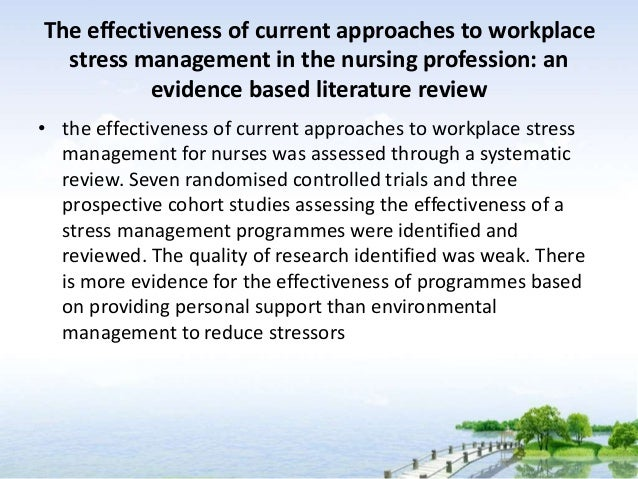 LITERATURE REVIEW OF CAREGIVERS STRESS AND COPING.