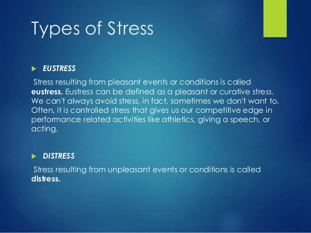 Stress management -power point