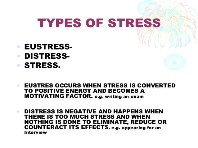 types management of stress essay Releasing stress through the power of music  music is effective for relaxation and stress management  so what type of music reduces stress the best a bit.