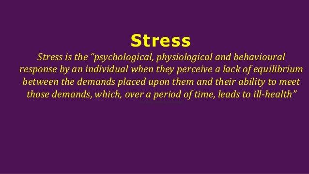Stress management&4 A's of stress management Slide 3
