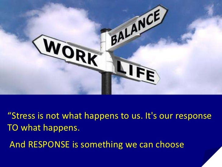 Stress management – a demand for today's world
