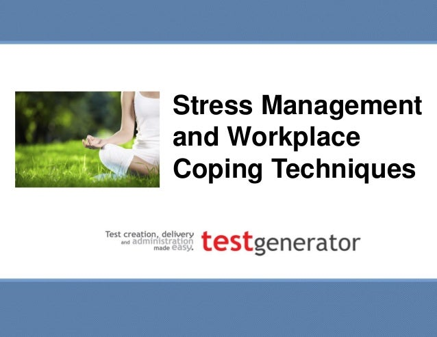 stress at workplace research methodology Stress in the workplace  methodology the stress in the workplace survey was conducted online within the united states by harris interactive  workplace stress is .