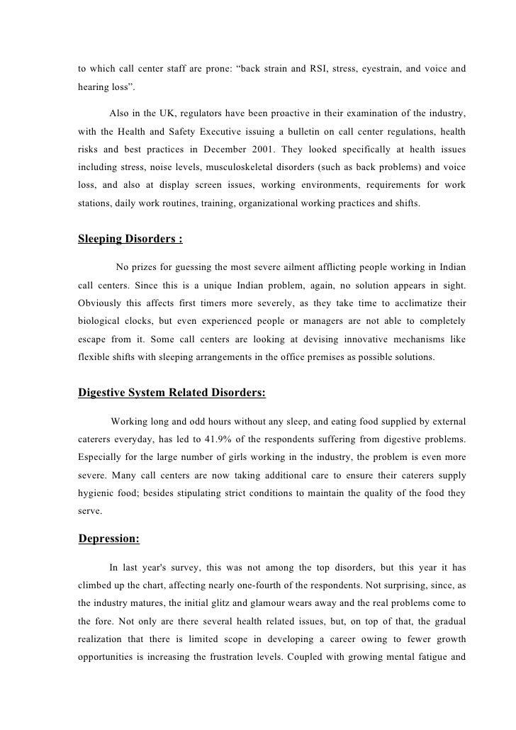 stress management literature review essays