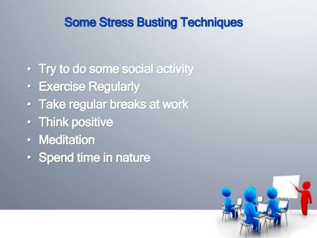 stress management in the work place