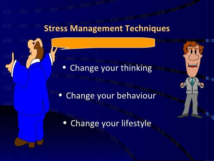 Stress Management Presentation