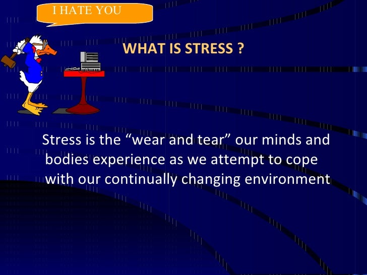 speech on how to manage stress for students