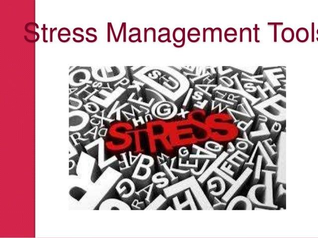 Stress Management Tools