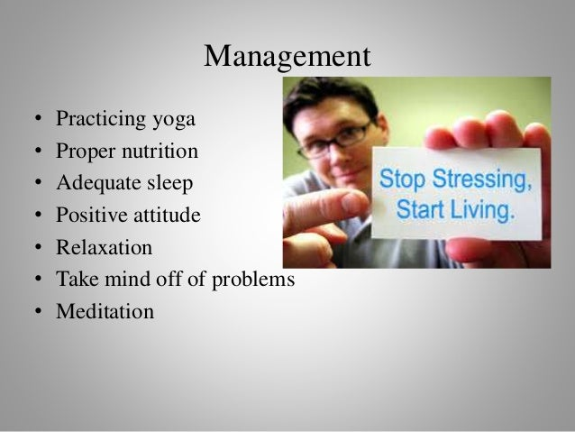 yoga and stress management pdf
