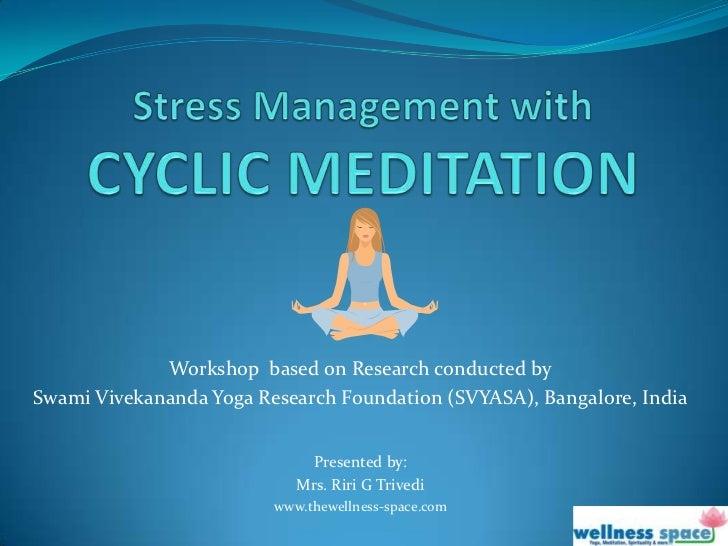 yoga stress management