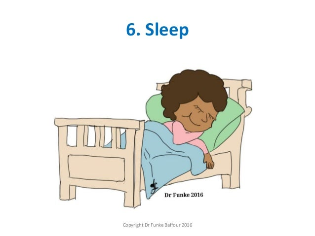 6. Sleep Copyright Dr Funke Baffour 2016