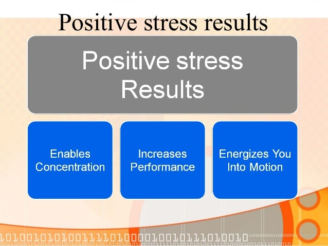 DISTRESS  In contrast, Distress, or negative stress, has the following characteristics: •Causes anxiety or concern •Can be...