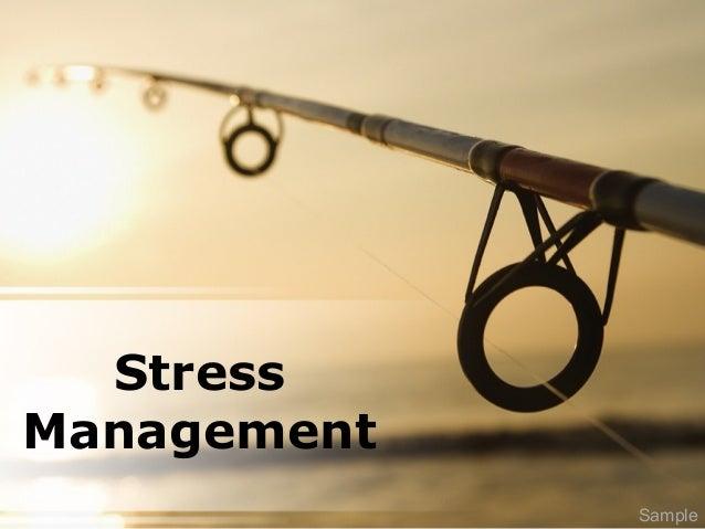Stress Management Sample
