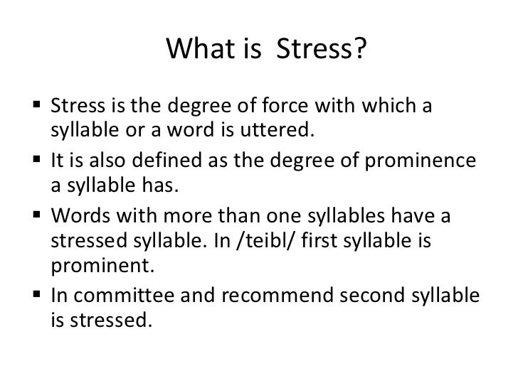 definition stress Any definition of stress should therefore also include good stress, or what selye called eustress for example, winning a race or election can be just as stressful as losing, or more so a passionate kiss and contemplating what might follow is stressful, but hardly the same as having a root canal procedure.