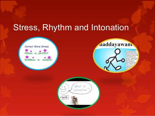 stress and rhythm in english