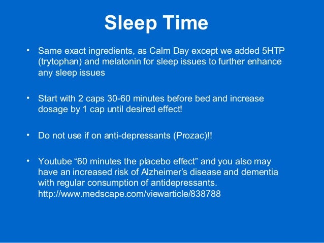 Sleep Time • Same exact ingredients, as Calm Day except we added 5HTP (trytophan) and melatonin for sleep issues to furthe...