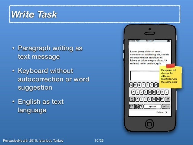write a paragraph about smartphone