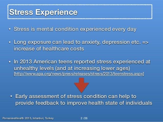iSenseStress: Assessing Stress Through Human-Smartphone Interaction Analysis Slide 2