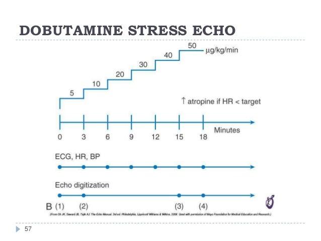 DOBUTAMINE STRESS ECHO 57