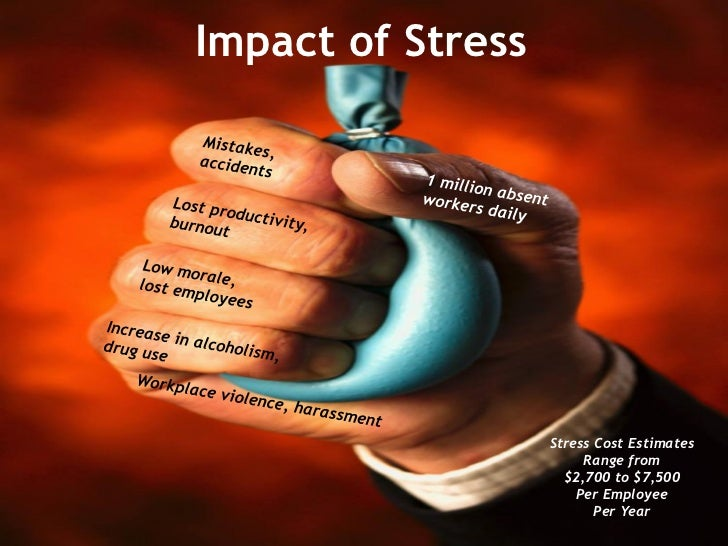 the stress of employee effect their 23112015  how employers can manage stress in the workplace  the clarity of an employee's role in their organisation and the nature of relationships at work.