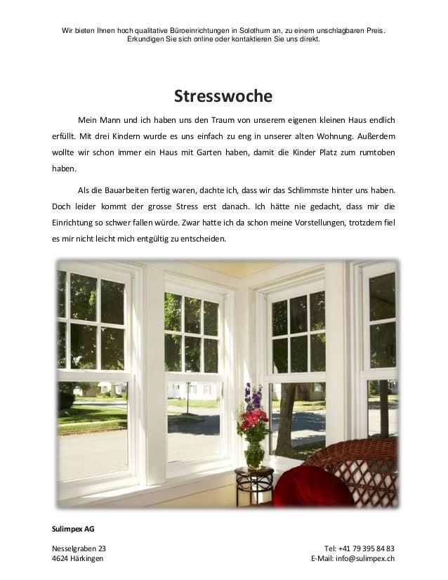 Wir bieten Ihnen hoch qualitative Büroeinrichtungen in Solothurn an, zu einem unschlagbaren Preis. Erkundigen Sie sich onl...