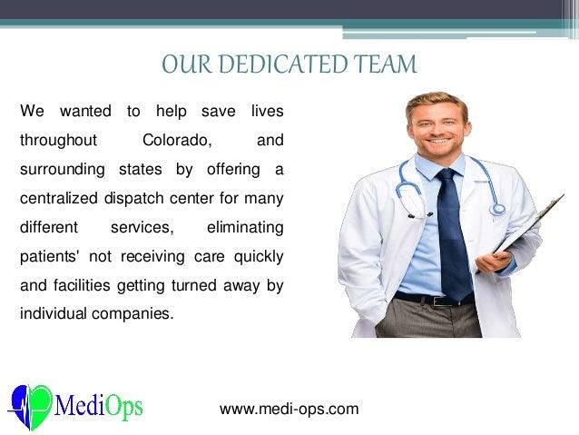 Stretcher Transport Colorado - Medi-Ops Emergency Medical ...