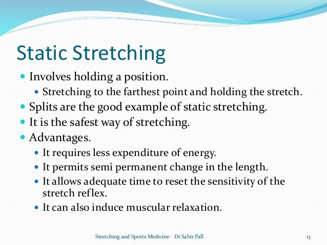 the perks of dynamic stretching Recent studies have confirmed the benefits of what the athletic coaches of  yesteryear were putting into practice – dynamic stretching.