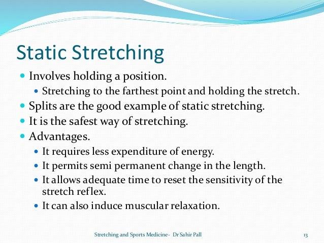 Stretching And Sports Medicine Dr Sahir Pall