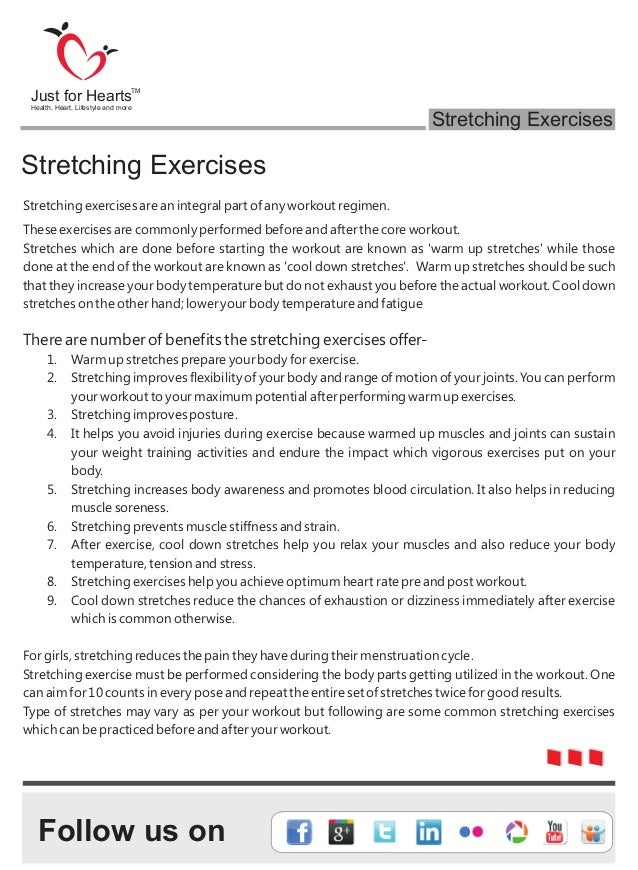E Book on Stretching exercises