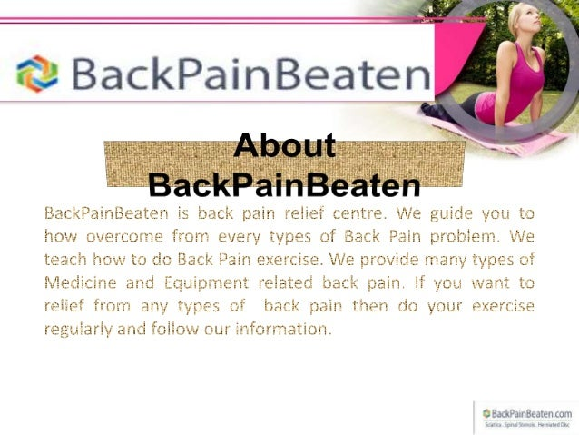 Stretching exercises for lower back pain Slide 2