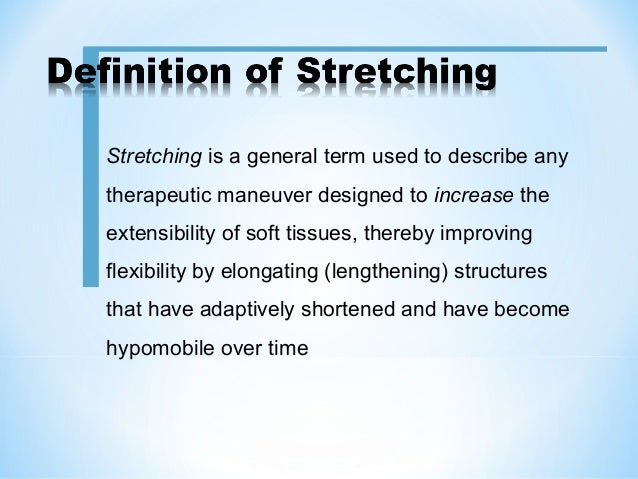 Stretching Exercises Slide 3