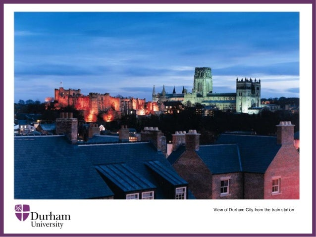 ∂ View of Durham City from the train station