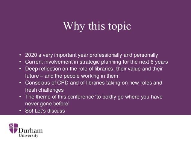 Durham university strategy 2020