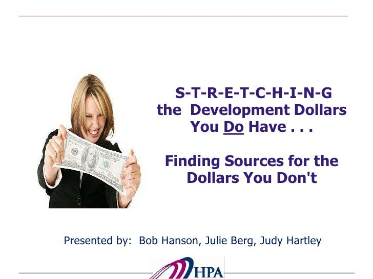 Stretching Your Training Dollar