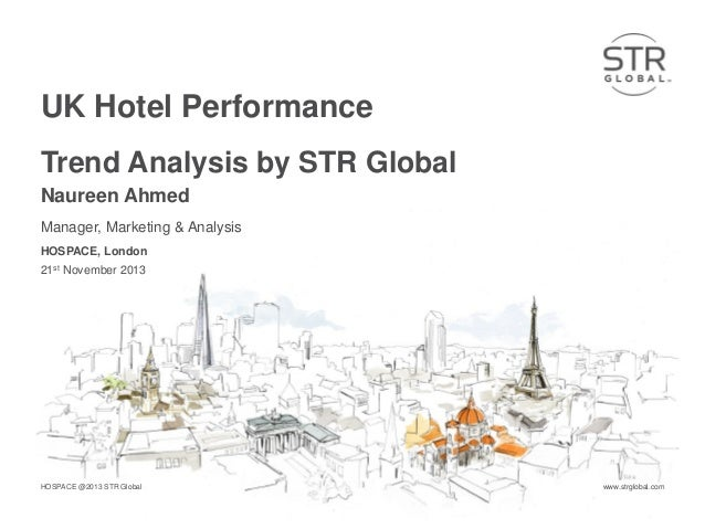 UK Hotel Performance Trend Analysis by STR Global Naureen Ahmed Manager, Marketing & Analysis HOSPACE, London 21st Novembe...