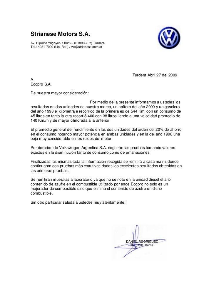 Strianese Motors S.A. Av. Hipólito Yrigoyen 11026 – (B1833GTY) Turdera Tel.: 4231-7009 (Lin. Rot.) / vw@strianese.com.ar  ...