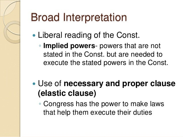 interpretation of the constitution American laws & courts judicial philosophies: how judges interpret constitutions and laws sponsored link interpretation of the us constitution and federal/state.