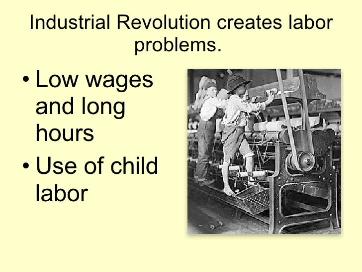 Industrial Revolution Strikes