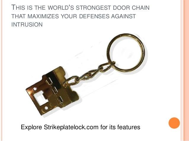 World S Strongest Door Chain