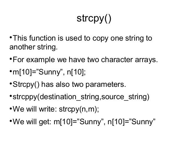 how to return a string from a function in c