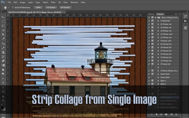 Strip Collage From Single Image User Guide There are only few things you should know before start using actions: You must ...